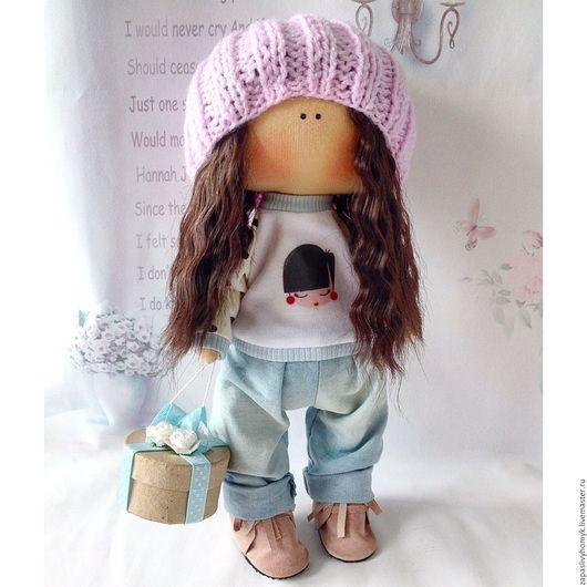 Ярмарка мастеров - ручная работа. Куклы и игрушки ручной работы. Купить Интерьерная текстильная кукла. Украшение интерьера. Handmade