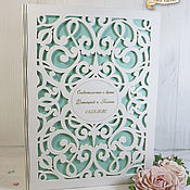 Свадебный салон handmade. Livemaster - original item Folder for the marriage certificate wooden. Handmade.