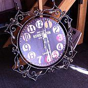 Для дома и интерьера ручной работы. Ярмарка Мастеров - ручная работа Кованые часы. Handmade.