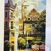 Картины и панно ручной работы. Ярмарка Мастеров - ручная работа трамвай желания. Handmade.