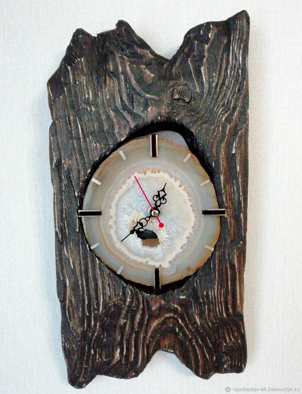 Часы настенные дерево, Часы классические, Воронеж,  Фото №1