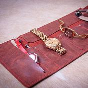 Сумки и аксессуары handmade. Livemaster - original item Watch case. Handmade.