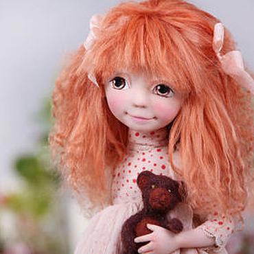 """Куклы и игрушки ручной работы. Ярмарка Мастеров - ручная работа Рыжуля """"Polly"""". Handmade."""