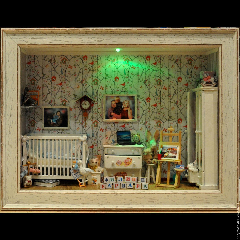 Детская миниатюрная комната в подарок, Подарочные боксы, Санкт-Петербург,  Фото №1