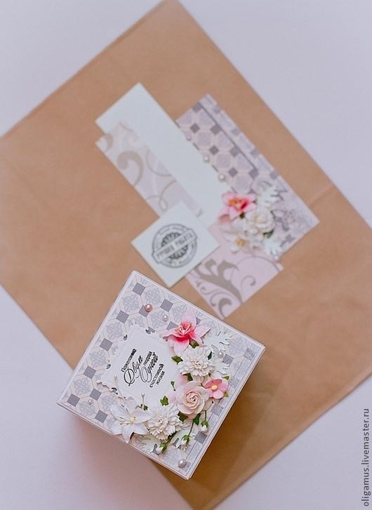 Свадебные открытки ручной работы. Ярмарка Мастеров - ручная работа. Купить Коробочка для денег на свадьбу. Handmade. Короб, на все случаи жизни