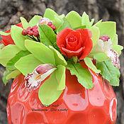"""Цветы и флористика ручной работы. Ярмарка Мастеров - ручная работа Композиция """"Mia"""". Handmade."""