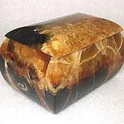 Для дома и интерьера ручной работы. Ярмарка Мастеров - ручная работа Шкатулка из симбирцита, натурального природного камня. Handmade.