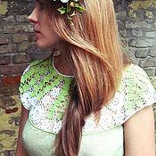 """Одежда ручной работы. Ярмарка Мастеров - ручная работа Платье """"Липовый цвет"""". Handmade."""