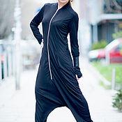 Одежда handmade. Livemaster - original item Jumpsuit with zipper and long sleeves - JP0349TR. Handmade.