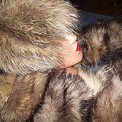 Аксессуары ручной работы. Ярмарка Мастеров - ручная работа Меховой комплект, шапка, шарф-воротник. Handmade.