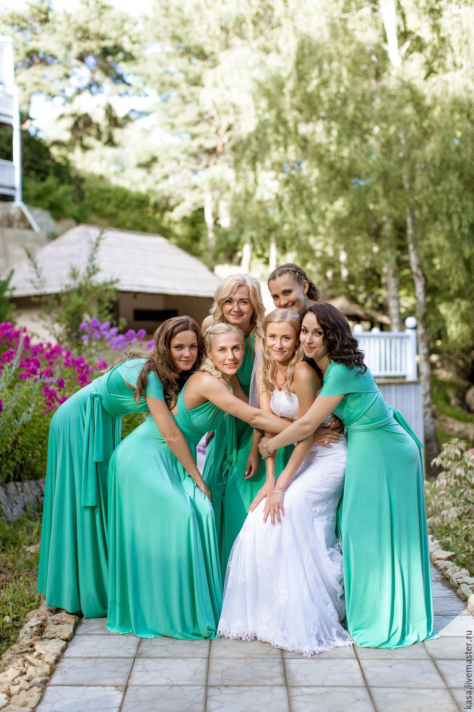 Платья подружек невесты салоны