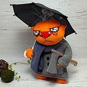 Куклы и игрушки handmade. Livemaster - original item The climate is. Soft toy red cat Vasya Lozhkina. Handmade.