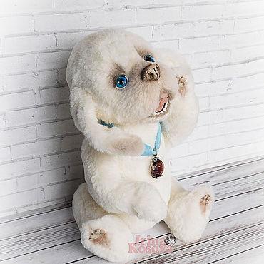 Куклы и игрушки ручной работы. Ярмарка Мастеров - ручная работа Собака игрушка Бао. Щенок тедди, собака тедди. Handmade.