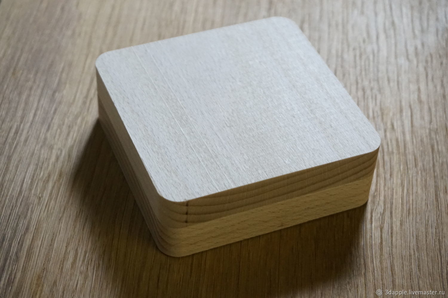 Wooden box-gift packaging, Box1, Moscow,  Фото №1