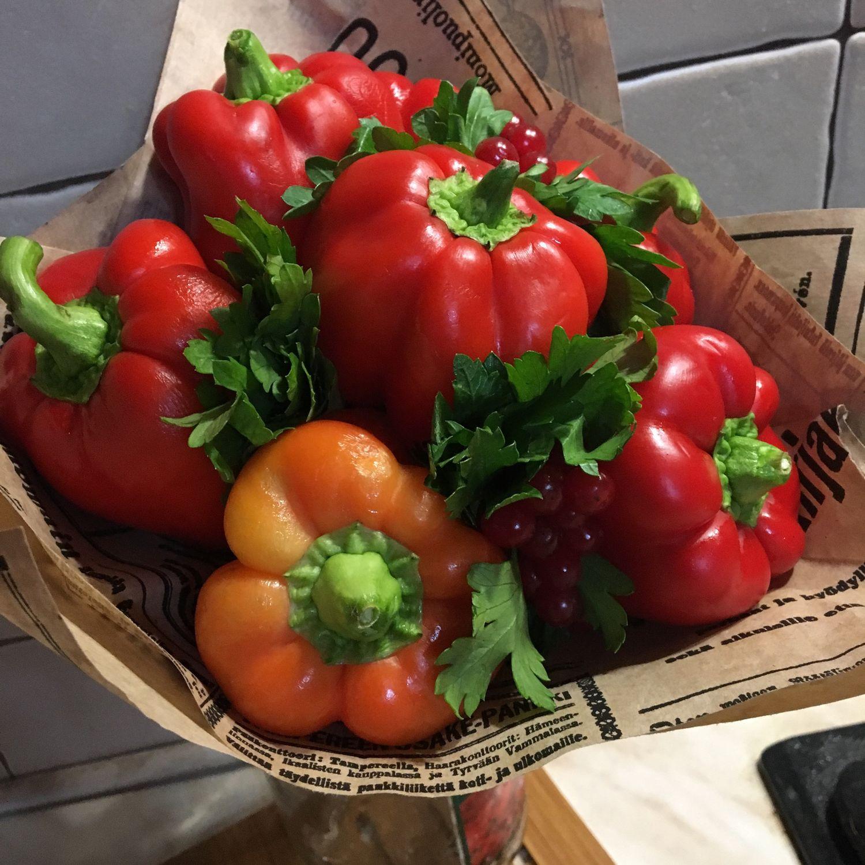 Вкусный букет. Sweet  pepper, Букеты, Москва,  Фото №1