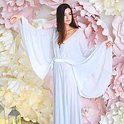 Одежда ручной работы. Ярмарка Мастеров - ручная работа Будуарное платье заоблачная нежность. Handmade.