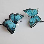 Украшения ручной работы. Ярмарка Мастеров - ручная работа Бабочки 2. Handmade.