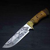 Сувениры и подарки handmade. Livemaster - original item The knife the Lord with a picture. Handmade.