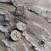 Украшения handmade. Livemaster - original item Set of embroidered