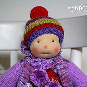 Куклы и игрушки ручной работы. Ярмарка Мастеров - ручная работа Амика - кукла текстильная игровая для девочки. Handmade.
