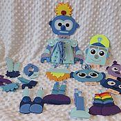 Куклы и игрушки handmade. Livemaster - original item Robot fastener. Handmade.