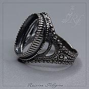 Материалы для творчества handmade. Livemaster - original item Base for the ring