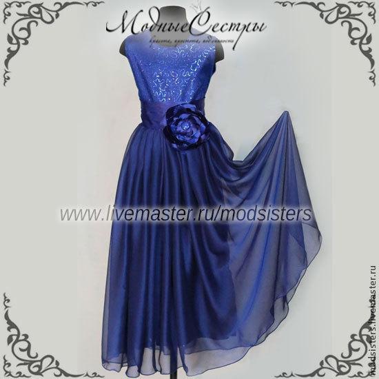Baby dress 'Formal' dark blue Art.-116, Childrens Dress, Nizhny Novgorod,  Фото №1