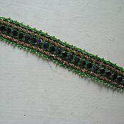 Украшения ручной работы. Ярмарка Мастеров - ручная работа браслет из бисера. Handmade.