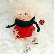 Мягкие игрушки ручной работы. Ярмарка Мастеров - ручная работа Мини - куклы милашки. Handmade.