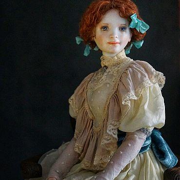 Куклы и игрушки ручной работы. Ярмарка Мастеров - ручная работа Лизавета, Лиззи. фарфоровая шарнирная кукла. Handmade.