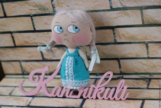 Коллекционные куклы ручной работы. Ярмарка Мастеров - ручная работа. Купить Жихарка текстильная кукла. Handmade. Комбинированный, кукла в подарок