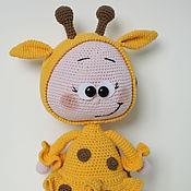 Куклы и игрушки handmade. Livemaster - original item Bonnie in costume Grafica knitted. Handmade.