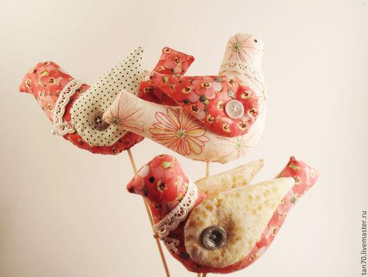 Игрушки животные, ручной работы. Ярмарка Мастеров - ручная работа. Купить Птица счастья. Handmade. Игрушка ручной работы, Пасха