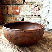 """Посуда ручной работы. Ярмарка Мастеров - ручная работа Тарелка """"Суровая"""". Handmade."""