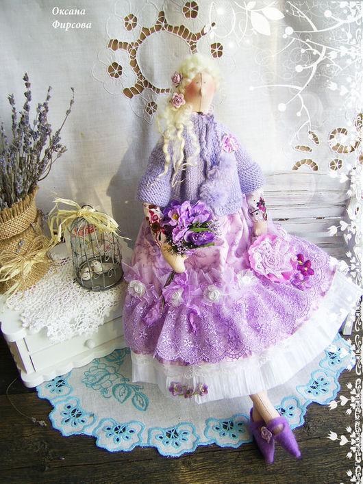 Куклы Тильды ручной работы. Ярмарка Мастеров - ручная работа. Купить Тильда. Лилиана текстильная коллекционная кукла тильда. Handmade.
