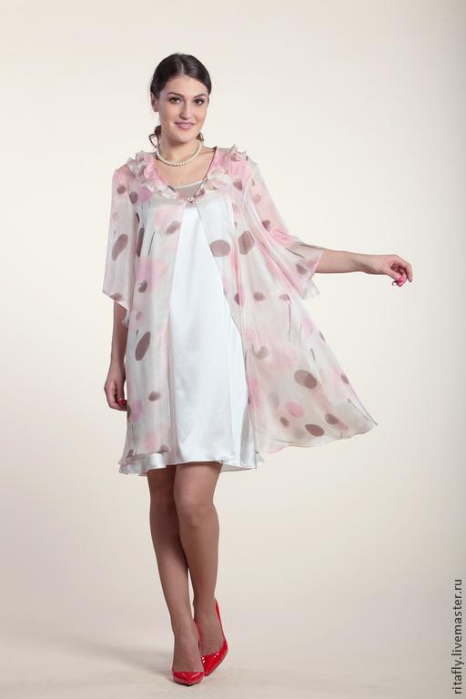 женский комплект летнее платье из натурального шелка платье на бретельках длинная блуза из натурального шелка женский летний костюм с платьем короткое летнее платье из шелка блуза из шелка туника длин
