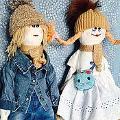 Куклы Тильда ручной работы. Ярмарка Мастеров - ручная работа Сладкая парочка. Handmade.