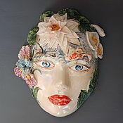 Для дома и интерьера handmade. Livemaster - original item River fairy .Interior mask. Handmade.