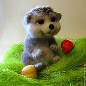 Куклы и игрушки ручной работы. Ярмарка Мастеров - ручная работа Ежик Боня. Handmade.