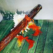 Музыкальные инструменты ручной работы. Ярмарка Мастеров - ручная работа Посох дождя ( Rainstick) (коричневый 70-75 см). Handmade.
