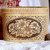 Для дома и интерьера handmade. Livemaster - original item A bread box of birch bark