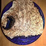 Доски ручной работы. Ярмарка Мастеров - ручная работа Сервировочная доска из карельской берёзы. Handmade.