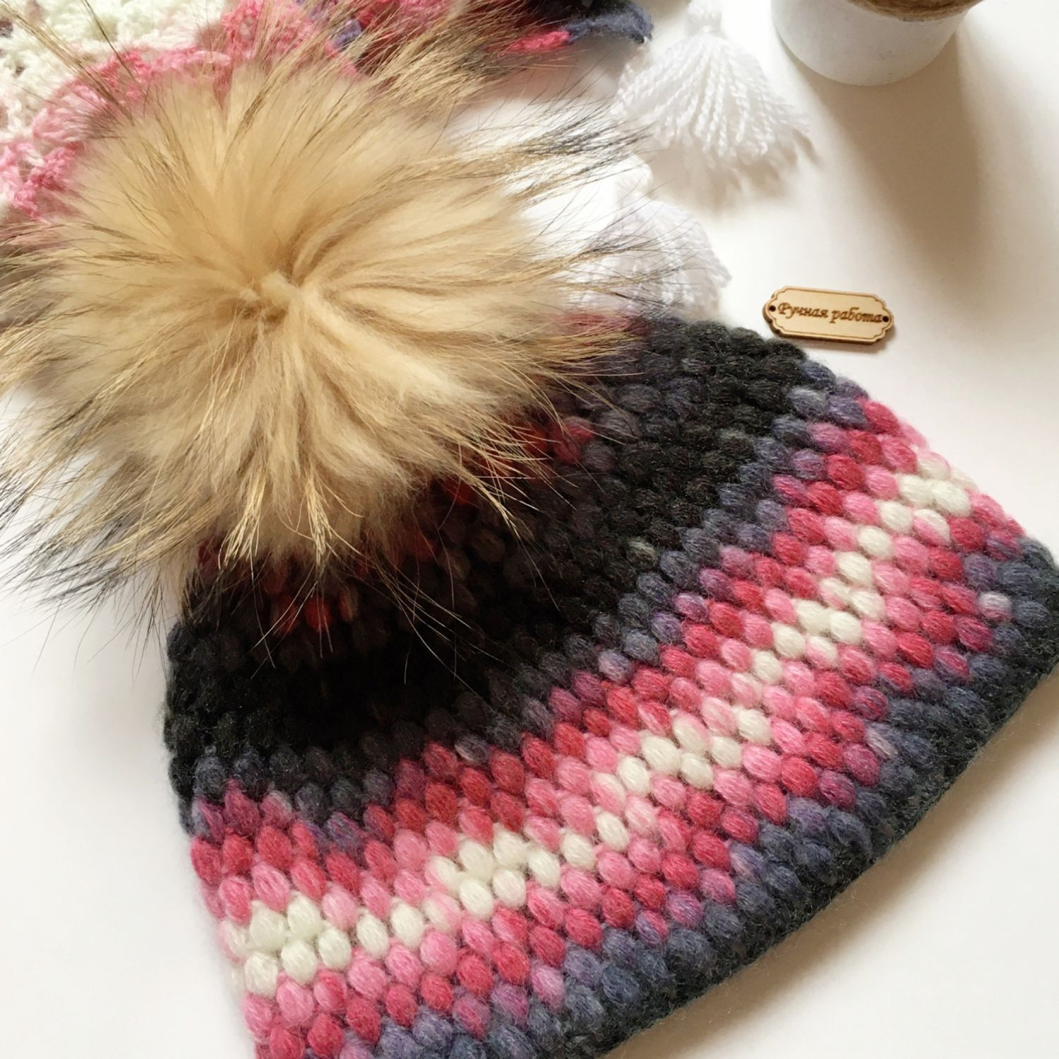 Accessories kits: Set women's wool with mohair, Headwear Sets, Moscow,  Фото №1