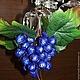 Подарочное оформление бутылок ручной работы. Ярмарка Мастеров - ручная работа. Купить Виноградная гроздь  из конфет. Handmade. Букет из конфет