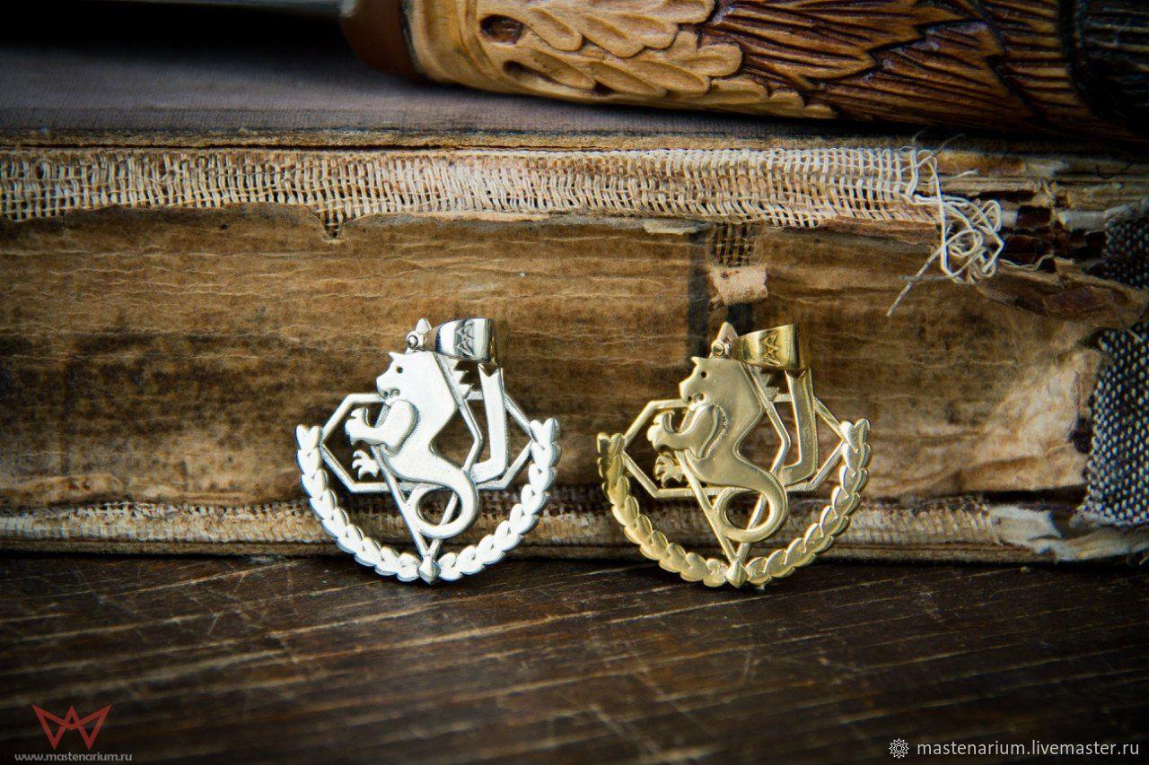 Pendant Amestris. Steel Alchemist. Fullmetal Alchemist. brass silver, Pendant, Moscow,  Фото №1