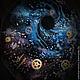 Кулоны, подвески ручной работы. Чёрная дыра. celestial mechanics (celestial-mecha). Интернет-магазин Ярмарка Мастеров. Синий, космос