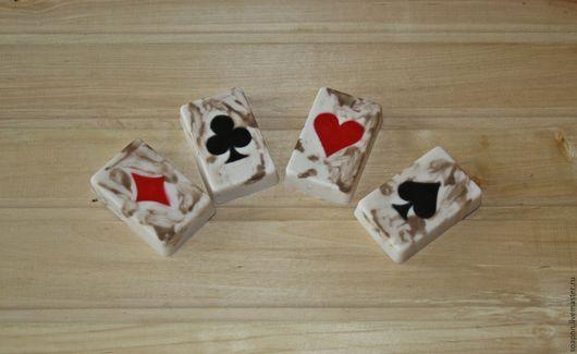 """Мыло ручной работы. Ярмарка Мастеров - ручная работа. Купить Набор мыла ручной работы """"Старые игральные карты"""".. Handmade."""