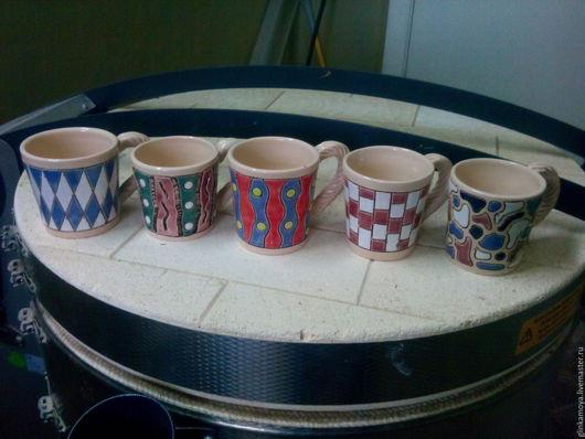 Кружки и чашки ручной работы. Ярмарка Мастеров - ручная работа. Купить Кружки. Handmade. Комбинированный, керамика ручной работы