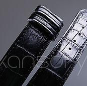 Украшения handmade. Livemaster - original item Watchband crocodile leather IMA0434B4. Handmade.