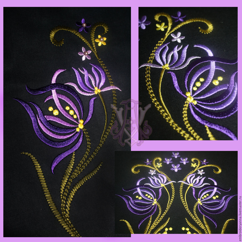 Дизайны машинной вышивки ru